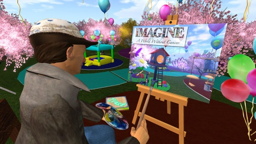 Relay for Life in Second Life