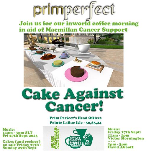 Cake Against Cancer poster