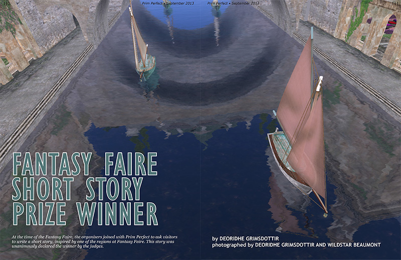 Prim Perfect Issue 48 - September 2013 - Winner in the Fantasy Fauire Short Story Competition