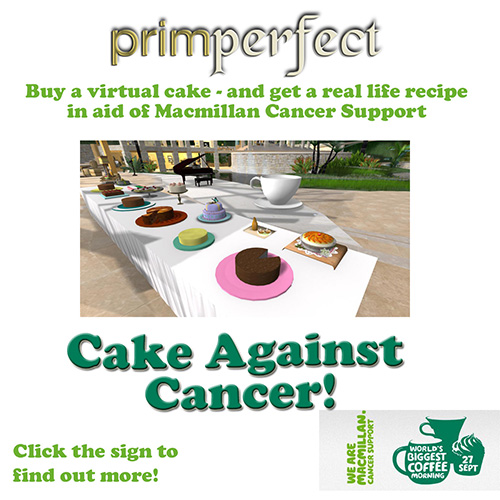 cake against cancer cart ad