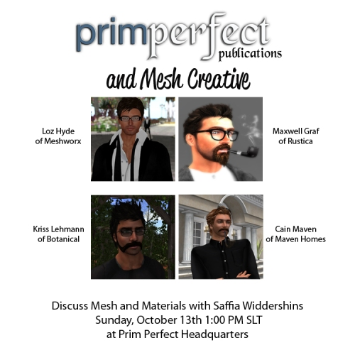 Prim Perfect and Mesh Creative