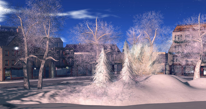 At the Christmas Expo - photograph by Wildstar Beaumont
