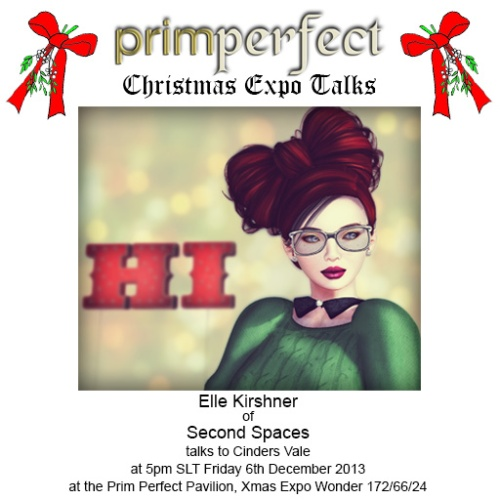 Elle talks at Prim Perfect