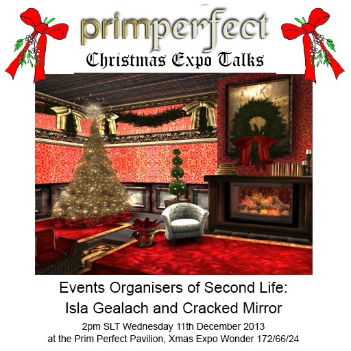 Organuising Events - with Isla Gealach and  Cracked Mirror