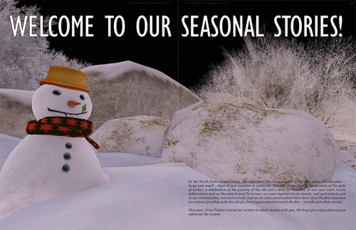 Prim Perfect Issue No.50 - December 2013: Our writers have a wealth of seasonal stories to share!