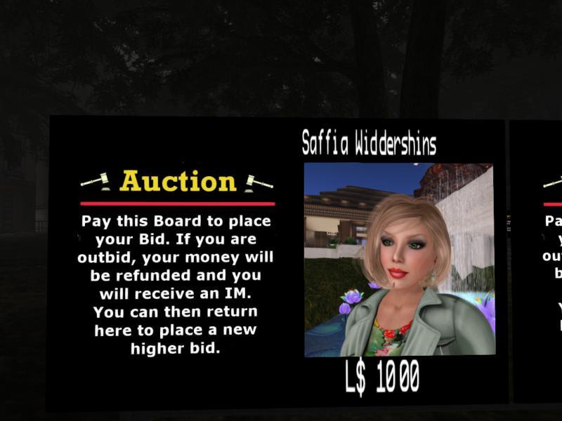 Saffia up for sale!