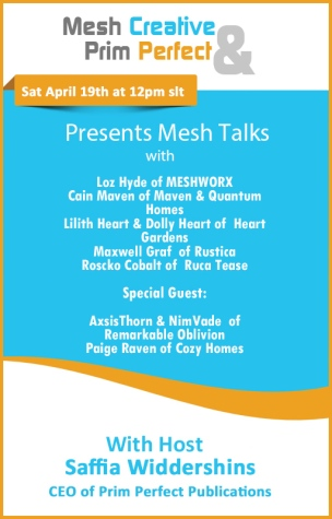 Mesh Creative & Prim Perfect Mesh Talks