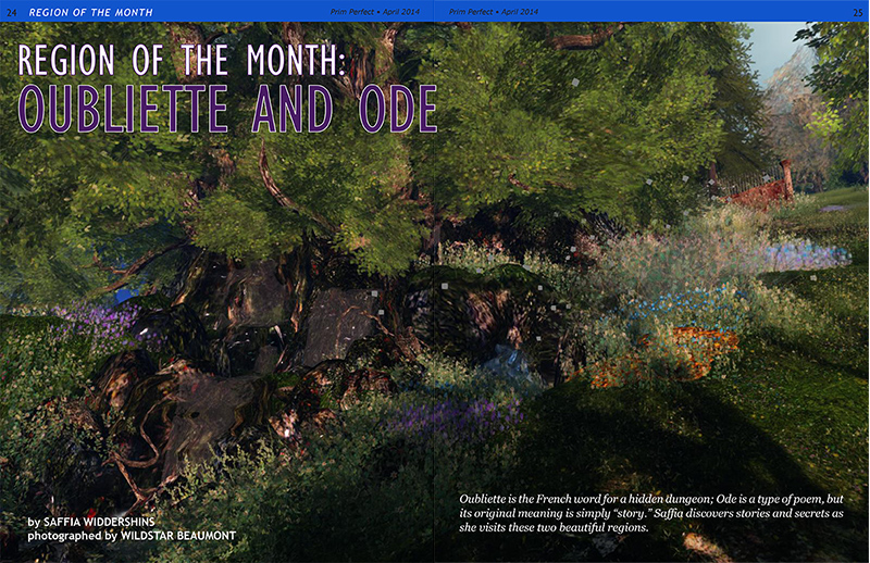 Prim Perfect: Issue 51 - April 2014 - Region of the Month