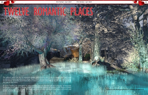 Prim Perfect: Issue 51 - April 2014 - Romantic Places