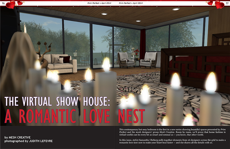 Prim Perfect: Issue 51 - April 2014 - Furnishing a Show House