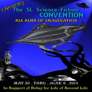 2014 SL Sci-Fi ConPoster