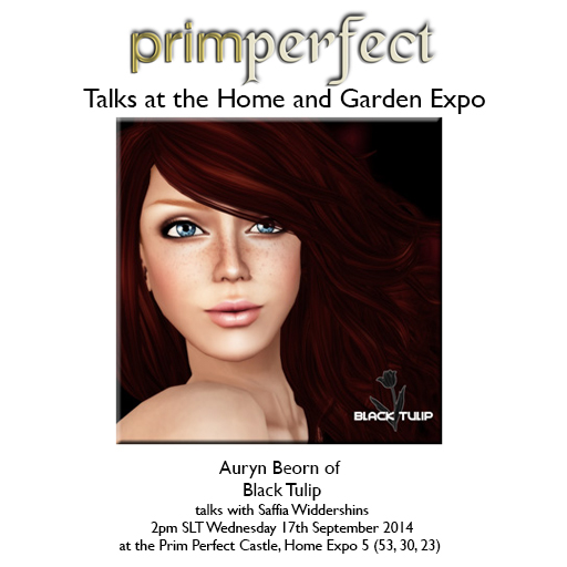 Auryn Beorn at the Home and Garden Expo