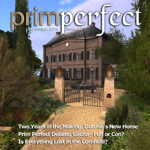 Prim Perfect Issue 52: September 2014: Cover