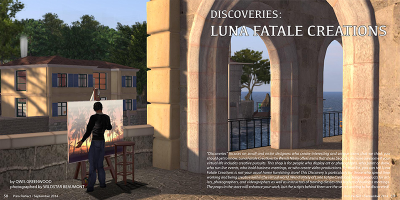 Prim Perfect Issue 52: September 2014: Discoveries
