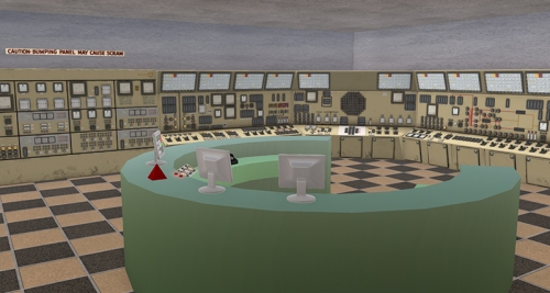 Second Life Museum of Nuclear Warfare, photographed by Wildstar Beaumont