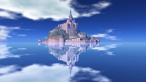 Mont St Michel, photographed by Wildstar Beaumont