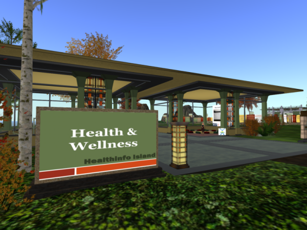 Health and Wellness Centre on HealthInfo Island