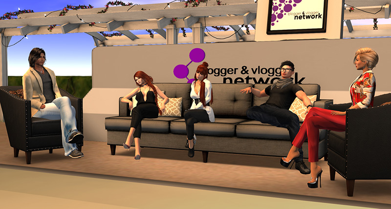 Blogger and Vlogger Network Headquarters, photographed by Wildstar Beaumont