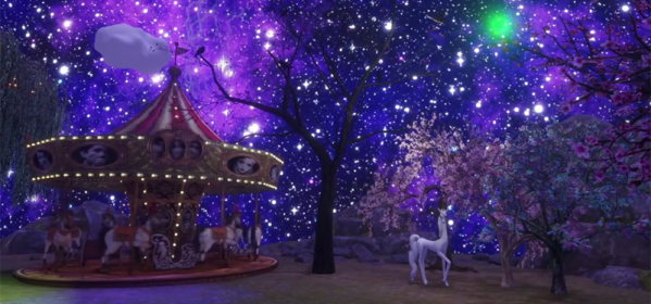Starry Stars and Stuff in Sansar