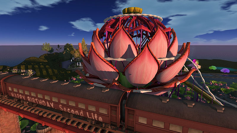 SL9B - Lotus Stage, photographed by Wildstar Beaumont