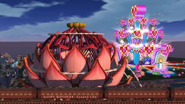 SL9B - Lotus Stage and Cake Stage, photographed by Wildstar Beaumont
