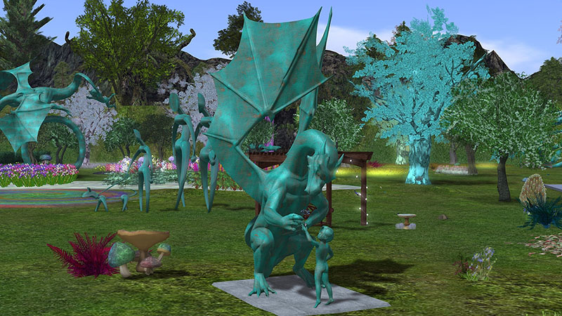Inworldz, photographed by Wildstar Beaumont