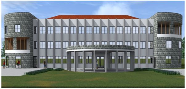 Kenyatta National Hospital, Hope Lodge (Rendering)