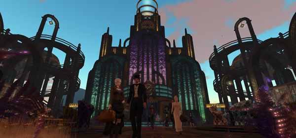 Erstwhile Station, photographed by Wildstar Beaumont