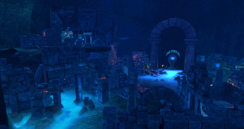 Calas Galadhon Maze, photographed by Wildstar Beaumont