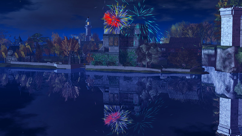 Fireworks at Trikassi, photographed by Wildstar Beaumont