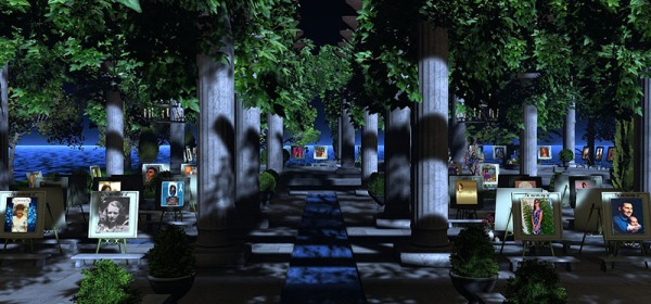 American Cancer Society Memorial Garden, photographed by Wildstar Beaumont