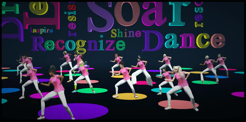 One Billion Rising in Second Life 2019 Dance Video
