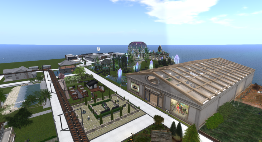 Overview of part of the Home and Garden Expo
