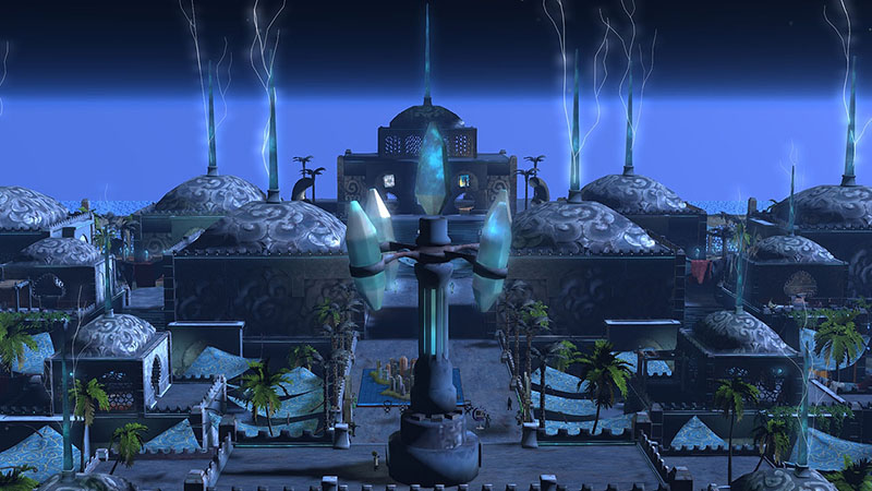 Tensor's Flying Market, photographed by Wildstar Beaumont
