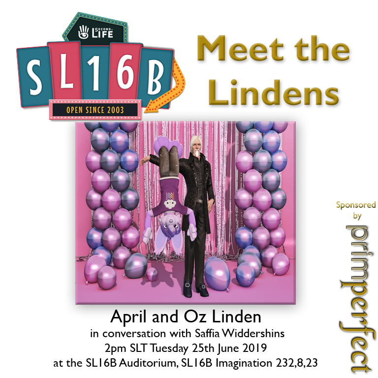 Talks at SL16B: Meet the Lindens: April and Oz