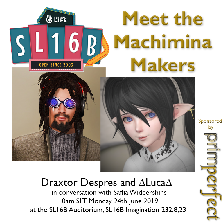 Talks at SL16B: Meet the Machinima Makers