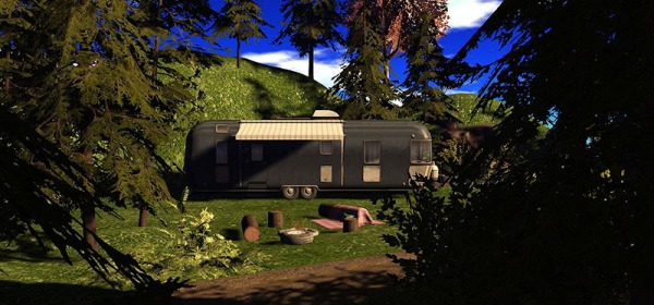 The new camper and trailer Linden Homes at Sl16B, photographed by Wildstar Beaumont