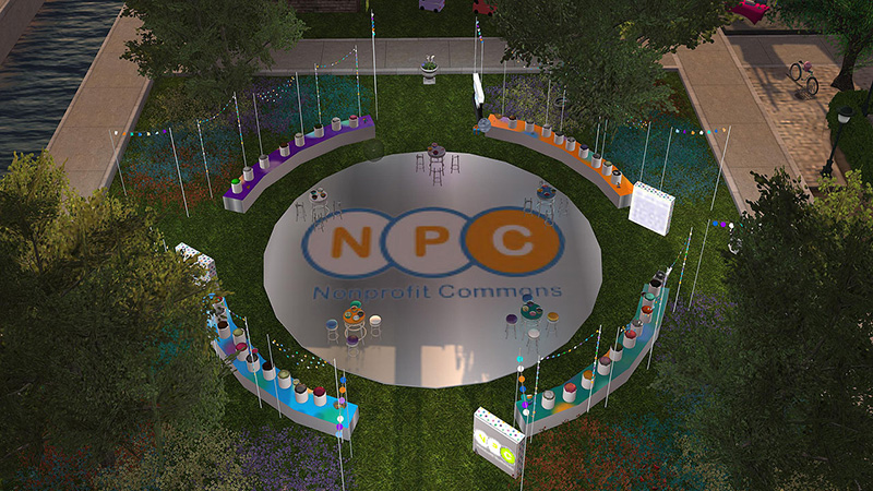 Nonprofit Commons at SL16B, photographed by Wildstar Beaumont