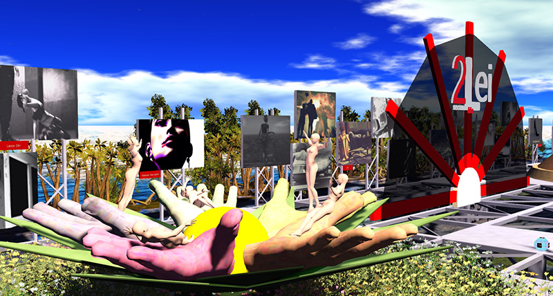 One Billion Rising in Second Life 2020