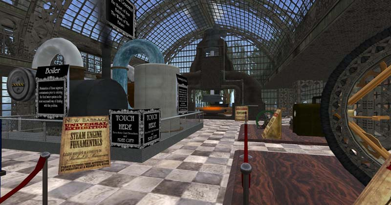 The New Babbage Exposition at RFL 2009