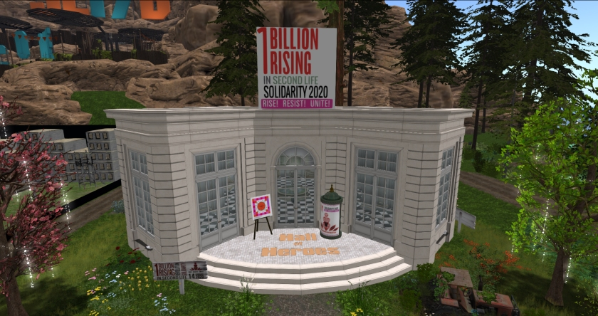 One Billion Rising at SL17B
