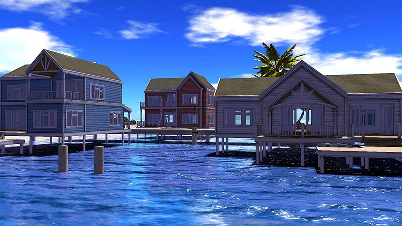 The Stilt Homes, photographed by Wildstar Beaumont