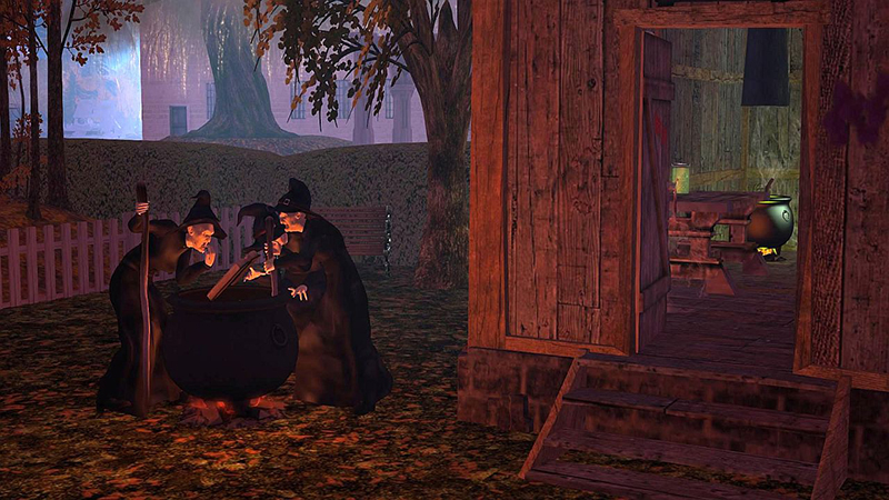 Halloween in Rosehaven, photographed by Wildstar Beaumont