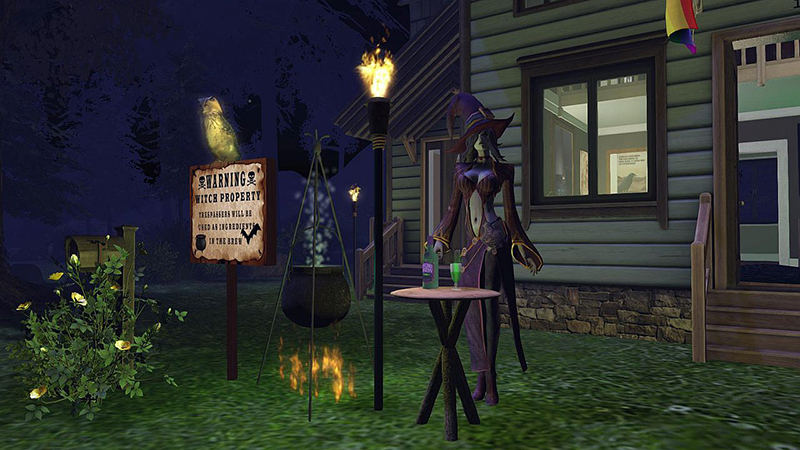 Halloween in Bellisseria, photographed by Wildstar Beaumont