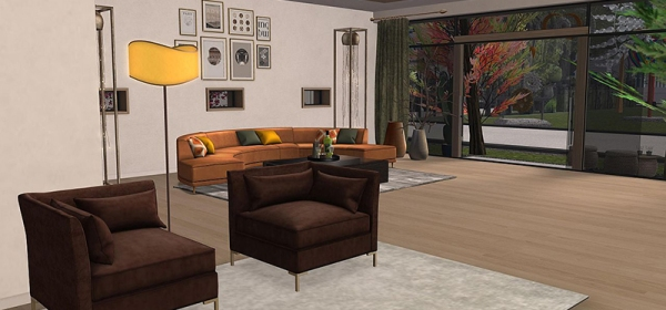 House Number 1: The Palomar by Cain Maven of Maven Homes, decorated by Demri Nova and Carina Heartsong
